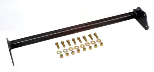 LRD S10 Carrier Crossmember for Xtra Cab (stock x-member has 4 rivets) 98'- UP