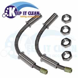 """AUTOLOC DLOOMBL-18"""" braided steel wire loom for door jam"""