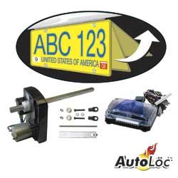 AUTOLOC 43150 RETRACTABLE LICENSE PLATE KIT