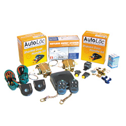 AUTOLOC SVPRO1 5 CHANNEL 11LBS REMOTE SHAVED DOOR KIT