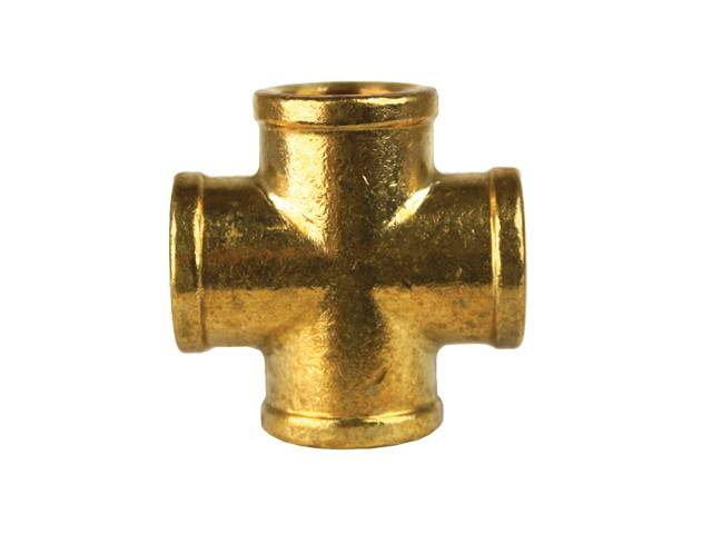 "PKR Female 3/8"" Pipe Cross WO102-6-6"