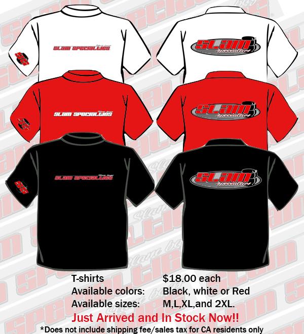 SLM T-Shirts Red Medium