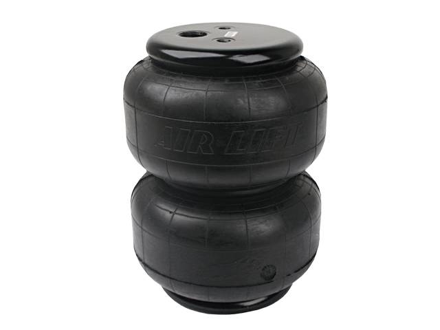 "AIR-58616 Airlift D2600 Dominator Single 1/2"" Port Air Bag 600psi Rated, 2600lb (Compressed: 2.8"" Extended:12.5"" Diameter: Max 8"")"