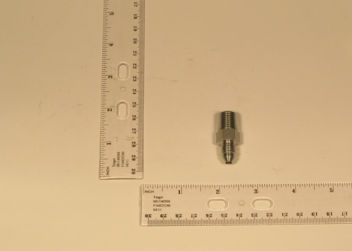 """PKR 4-4FTX-S Male connector 1/4"""" x 4"""