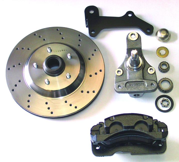 "MCG63236 13"" Big Brake Kit 67-69 Camaro/Firebird,64-72 A-Body,68-74 Nova, 13"" Front Disc Kit w/ 2""spindles **cross drilled**"