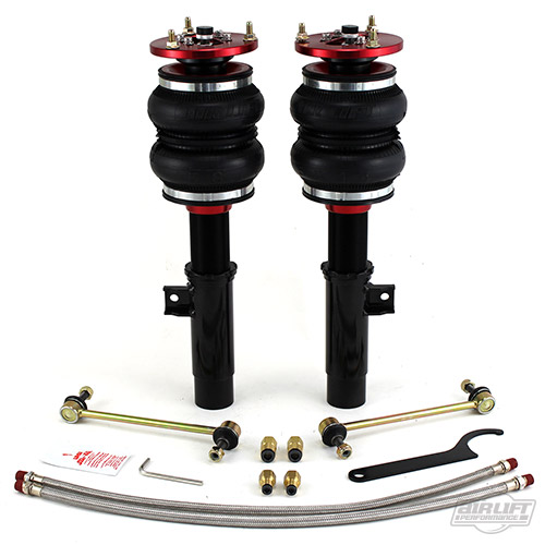 AIR-75546 BMW E46 Platform Front Struts Fits the following 1999-2006 BMW E46 Chassis Models 316i/ti 318i/Ci/ti 320i/Ci 323i/Ci 325i/Ci/it/ti 328i/Ci 330i/Ci