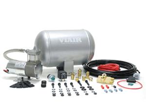 VIA10000 Viair Ultra-Light Duty On Board Air System 1) 1.0 Gallon Viair Air Tank (1) 98C model Viair Air Compressor (1) Pressure Switch with Relay (85 PSI on, 105 PSI off)