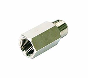 "VIA92833 Viair Check Valve 3/8""M to 3/8""F (Nickle Plated)"