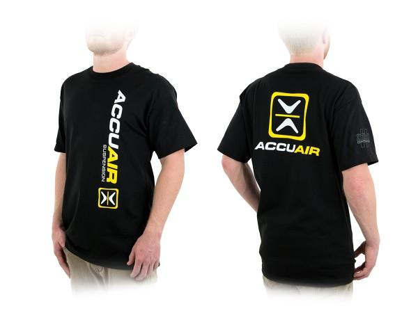 """ACCUAIR AA-TEE-BLK-OG 3XL AccuAir """"O.G."""" Design Black T-Shirt 3XL"""