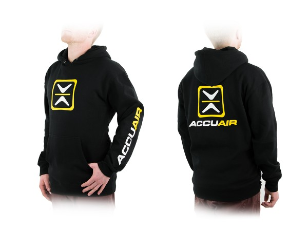 "ACCUAIR AA-CREW-BLK-OG L AccuAir ""O.G."" Design Black Crew Sweatshirt L"