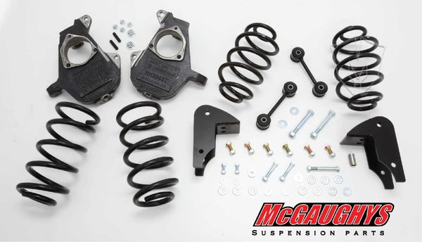"MCG30013 4""/5"" Deluxe Kit for 2007-2013 GM SUV Tahoe, Yukon, Escalade, Denali, ESV, EXT., Suburban, XL, & Avalanche (2WD)"