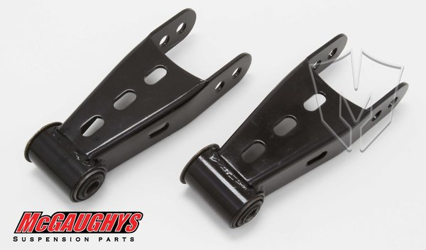 """MCG33037 1""""-2"""" Rear Shackles for 1988-2016 GM Truck 1500 & 1995-2000 Tahoe & Suburban (2WD/4WD, ALL CABS)"""