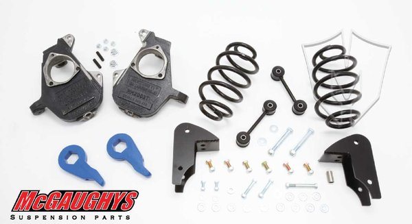 "MCG33049 3""/5"" Deluxe Kit for 2001-2006 GM SUV Tahoe, Yukon, Escalade, Denali, ESV, EXT., Suburban, XL, & Avalanche (2WD Only)"