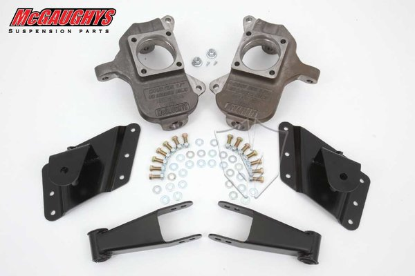 "MCG33079 2""/4"" or 2""/5"" Deluxe Kit for 2002-2008 GM Truck 3500 Dually - 8 Hole Factory Hanger (2WD/4WD)"