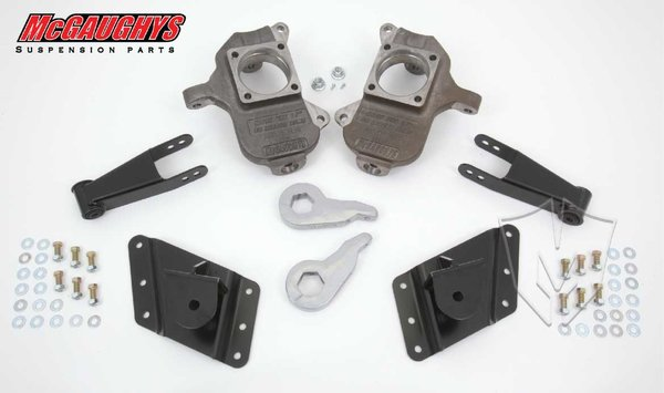 "MCG33081 3""/5"" Deluxe Kit for 2002-2010 GM Truck 3500 Dually - 8 Hole Factory Hanger (2WD/4WD)"