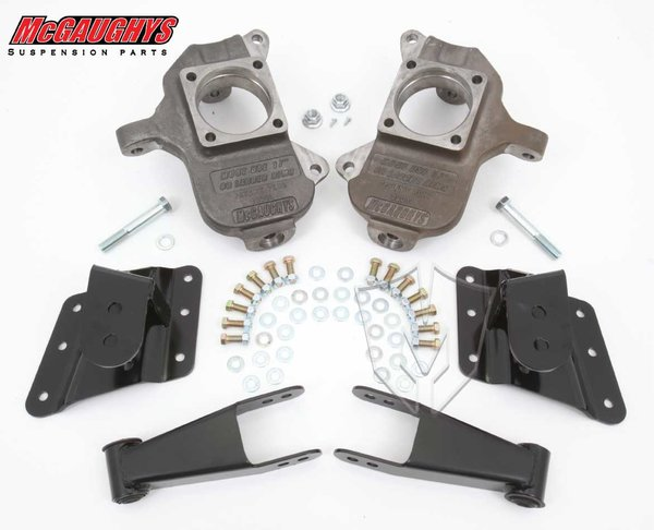 "MCG33082 2""/3"" or 2""/4"" Deluxe Kit for 1999-2000 GM 2500, 2001-2003 GM 1500HD, 2004 GM 2500 - 6 Hole Factory Hanger (2WD/4WD)"