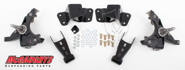 "MCG33135 2""/4"" Deluxe Kit for 1988-1998 GM Truck 1/2 Ton (2WD"