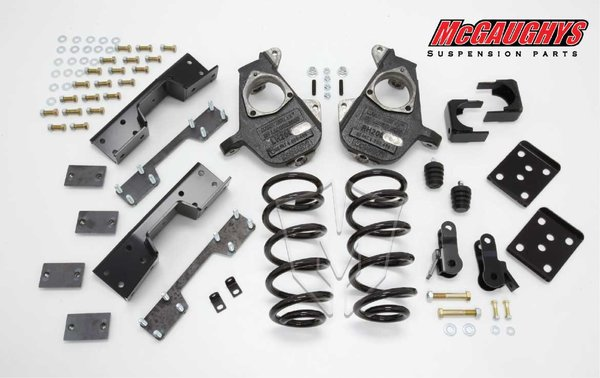 "MCG34023 4""/7"" Deluxe Kit for 2007-2013 GM Truck 1500 (2WD, S-CAB)"