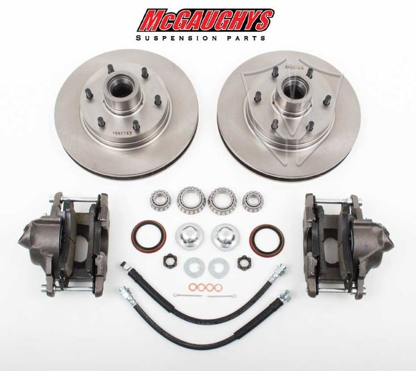 MCG63157 6-LUG Disc Brake Kit for 1960-1987 GM C-10 Truck (2WD)