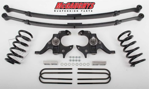 "MCG93114 4""/4"" Deluxe Kit for 1982-2003 GM S-10 Truck/GMC Sonoma, 1984-1998 GM S-10 Blazer (2WD, S-CAB)"