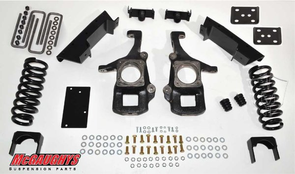 "MCG98016 4""/6"" Deluxe Kit for 2007-2013 Toyota Tundra (2WD)"