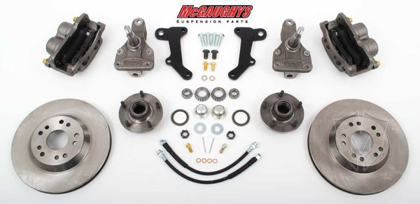 "MCG63237 13"" Big Brake Kit 67-69 Camaro/Firebird,64-72 A-Body,68-74 Nova, 13"" Front Disc Kit w/ 2""spindles"