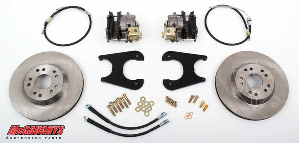 "MCG64096 13"" Big Brake Rear Kit for 55-64 GM Fullsize Car Rear End 5 x 4.75 Must use 17""+ rims"