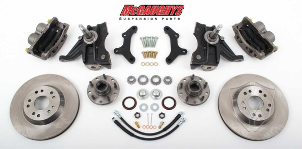 "MCG63152 13"" Big Brake Kit 71-72 C10 13"" Front Disc Kit w/ 2.5"" spindles (5 on 4.75) **must use 17""+ rims**"