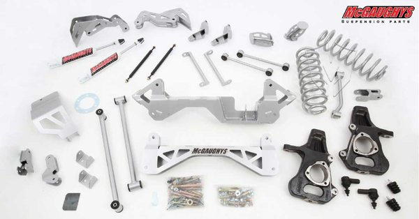 "MCG50125 7"" Premium Lift Kit for 2001-2006 GM SUV 1500 (2WD, Auto Leveling)"