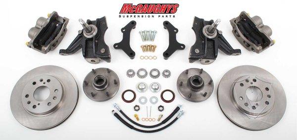 "MCG63310 6 LUG 13"" Front Big Brake Kit for 63-70 C10 w/. 2.5"" drop spindles."