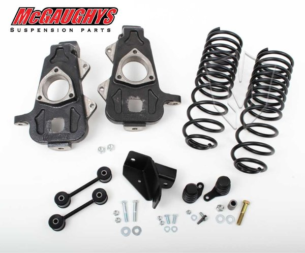 "MCG44050 2""/4"" Deluxe Kit for 2009-2014 Dodge Ram 1500 (2WD, S/X/QUAD)"