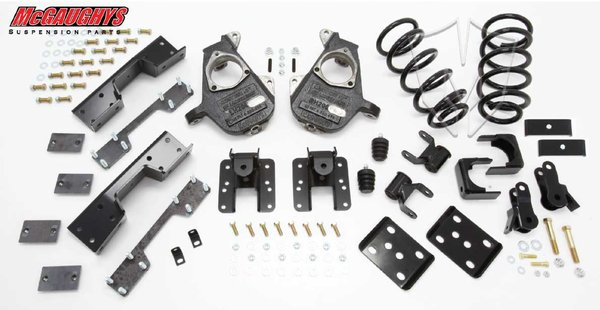 "MCG34035 4""/6"" Deluxe Kit for 2007-2013 GM Truck 1500 (2WD, S-CAB)"
