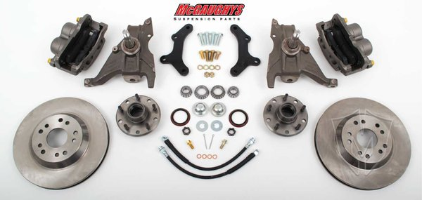 "MCG64079 13"" Big Brake Kit 79-81 Camaro, 13"" Front Disc Kit w/ 2""spindles"