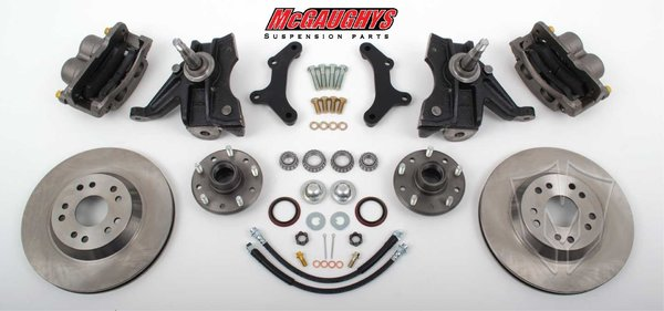 MCG33159 Front Disc Brake Kit for 1973-1987 GM C-10 Truck (5x5) )(must use 17 + rims)