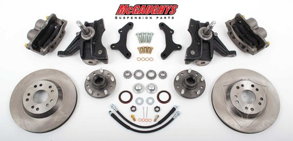 MCG63151 1963-70 C-1013 Front Disc Kit w/2.5 Spindles (5 on 5 ) (must use 17 + rims)