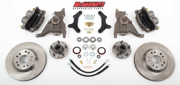 "MCG64077 13"" Front Big Brake Kit for 1970-1978 Chevy Camaro (5x4.75"", Smooth)"