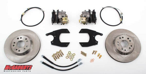 "MCG64100 13"" Rear Disc Brake Kit for factory 10 or 12 bolt rear-end (5x5, Smooth)"