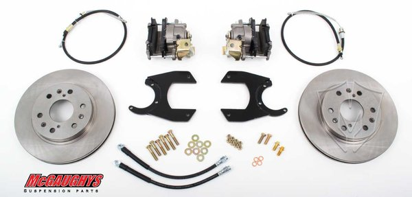 "MCG64300 13"" Rear Disc Brake Kit for factory 12 bolt rear-end (6-LUG, Smooth)"