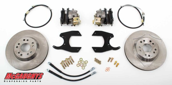 MCG64202 12 Bolt GM TRUCK Rear-end 13 Rear Disc Brake Kit (must use 17 + rims) 5 x 5