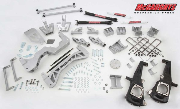 "MCG52351 7"" Premium Lift Kit for 2011-2016 GM Truck 3500 (4WD)"
