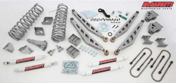 "MCG54900 8"" Premium Lift Kit for 09-13 Dodge Ram 2500 / 09-12 3500 (4WD, Gas Motor)"