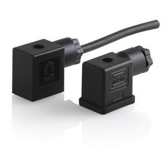 "LASC290411-001 Din Connector For 1/4"" Asco Valve"