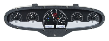 DAKVFD3-ORIG-6 Six gauge custom analog instrument system, built into OEM bezel at factory.