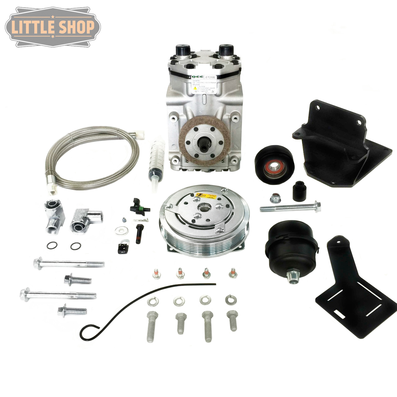 LSMFG-Diesel-EDC GM Duramax Engine Driven Compressor Kit** PLEASE INDICATE WHICH DIESEL YOU HAVE IN SHIPPING NOTES **