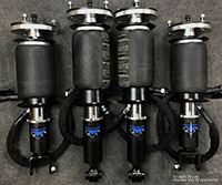 UVAIR11-S-Mazda-RX7-9395-Aero Universal Air 93'-95' Mazda RX7 FD Solution Series Air Struts (4) Aero