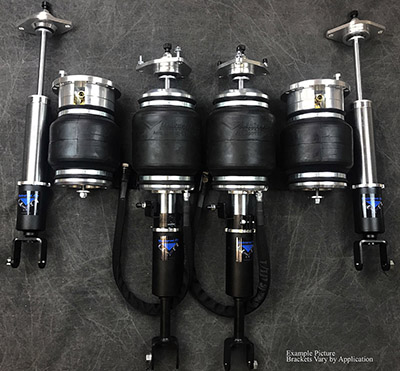 UVAIR11-S-Lexus-SC-0110 Universal Air 01'-10' Lexus SC Solution Series Air Struts (4) Aero