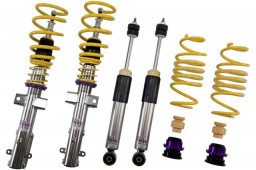 "BEL21026 Belltech 08'-10' Ford Mustang GT, Shelby GT500 Coilover Set (Stainless Steel, Adj. Rebound & Compression dampening) 1.2""-2.4"" Drop"