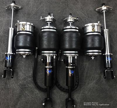 UVAIR11-S-Audi-A6-1117 Universal Air 11'-17' Audi A6 C7 Solution Series Air Struts (2) Aero (2) AH2