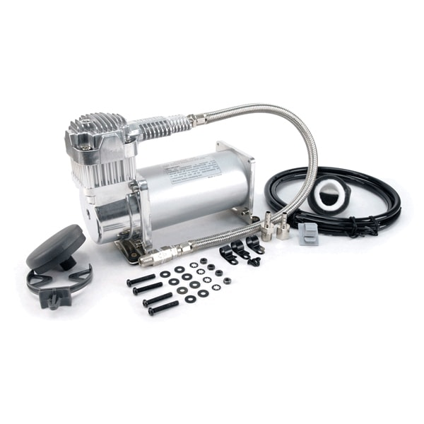 VIA40040 Viair 400C CHROME Compressor 33% Duty Cycle @200psi