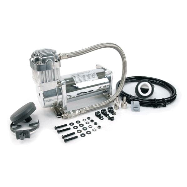 VIA35033 Viair 350C CHROME Compressor 100% Duty Cycle @ 100psi